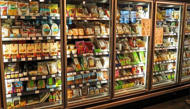 nabídka supermarketu