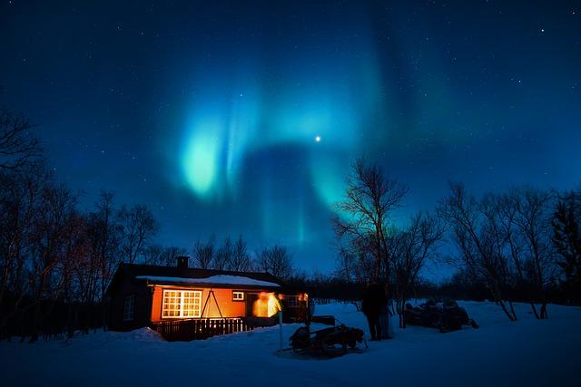 bydlení pod polární září
