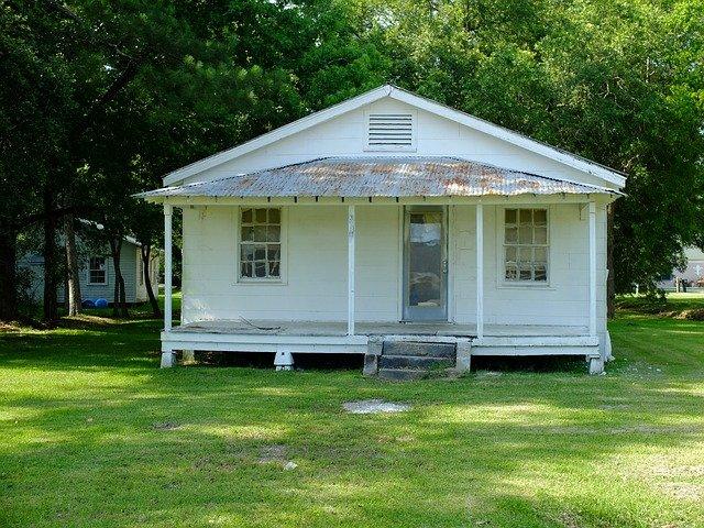 starý bungalov