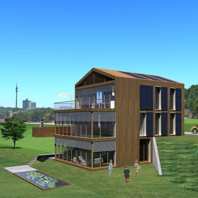 návrh pasivního domu