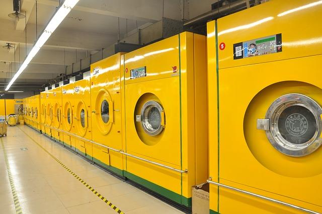 žluté pračky