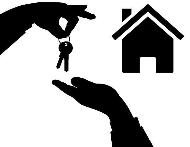předání klíčů domu