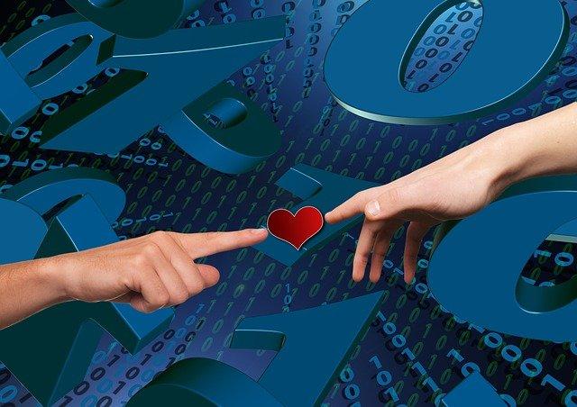 spojení srdcem