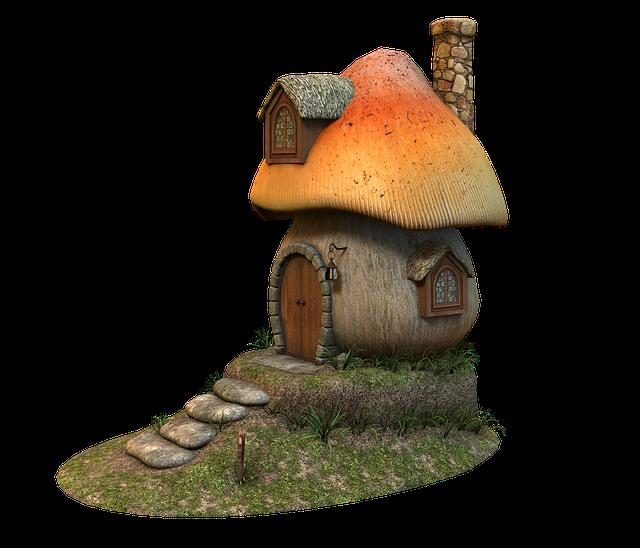 domeček houba