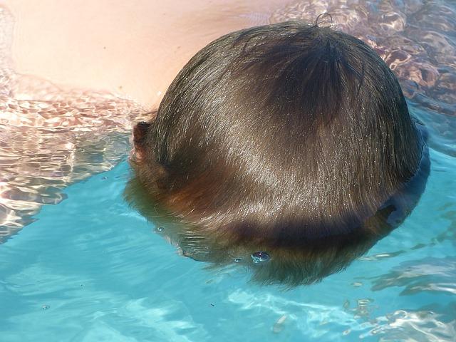 potopená hlava