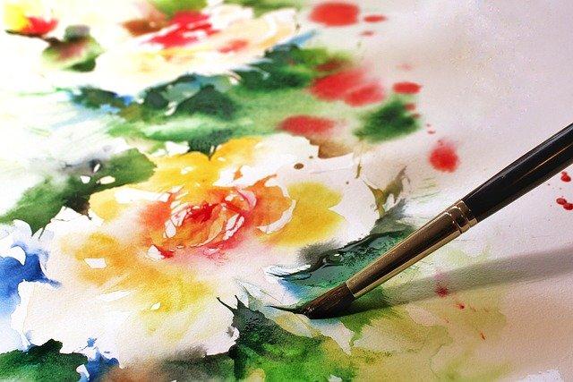 malování vodovkami