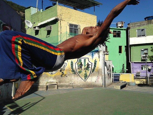 tanec capoeira
