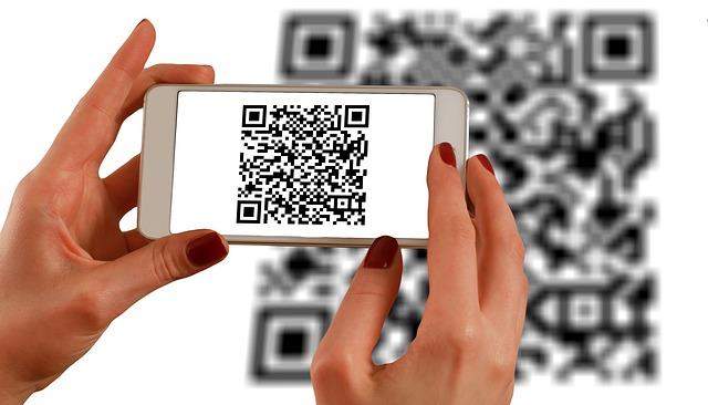 skenování QR kódu telefonem